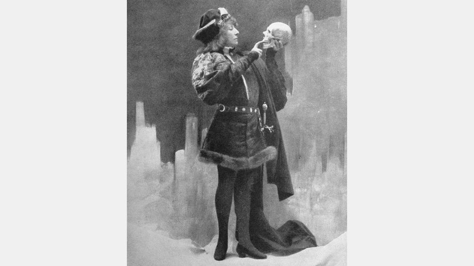 Clément Maurice's film adaptation of Hamlet from 1900, starring Bernhardt in the title role, is believed to be the earliest put onscreen (Credit: Time Life Pictures/Getty Images)
