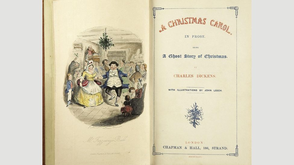 Dickens, who would go on to write three more Christmas novellas, hired John Leech to do the illustrations for the first edition of A Christmas Carol (Credit: Alamy)