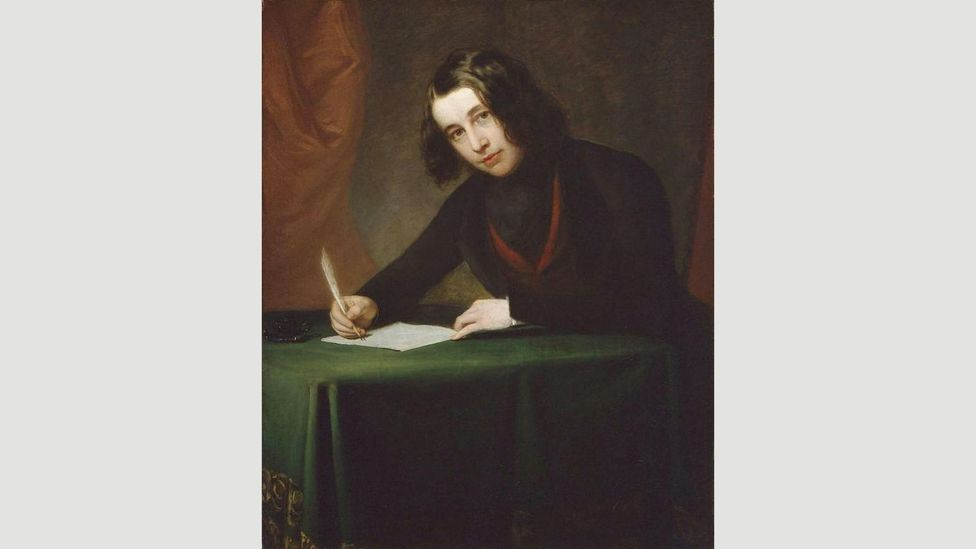 Charles Dickens, painted here by Francis Alexander in 1842, was only 31 when he wrote A Christmas Carol (Credit: Alamy)