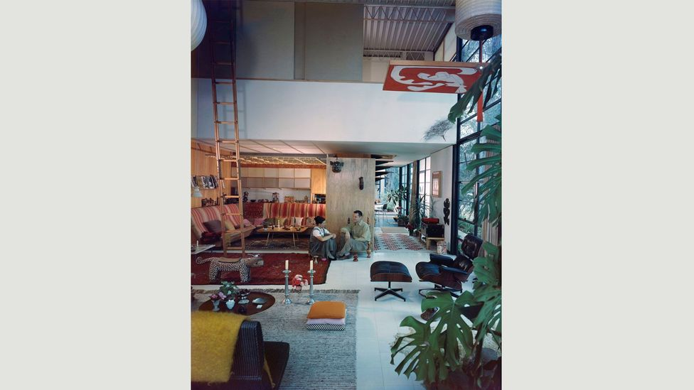 Rather than aiming for minimalism, Ray filled their house with objects that had caught her eye (Credit: Eames Office LLC)
