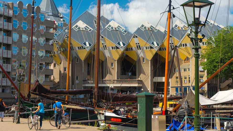 After the city's destruction, officials decided they would rebuild Rotterdam from scratch (Credit: robertharding/Alamy)