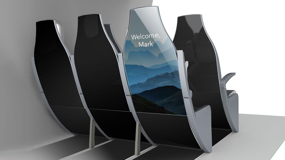 Myseat serves as a personal guide for travellers (Credit: Crystal Cabin Award)