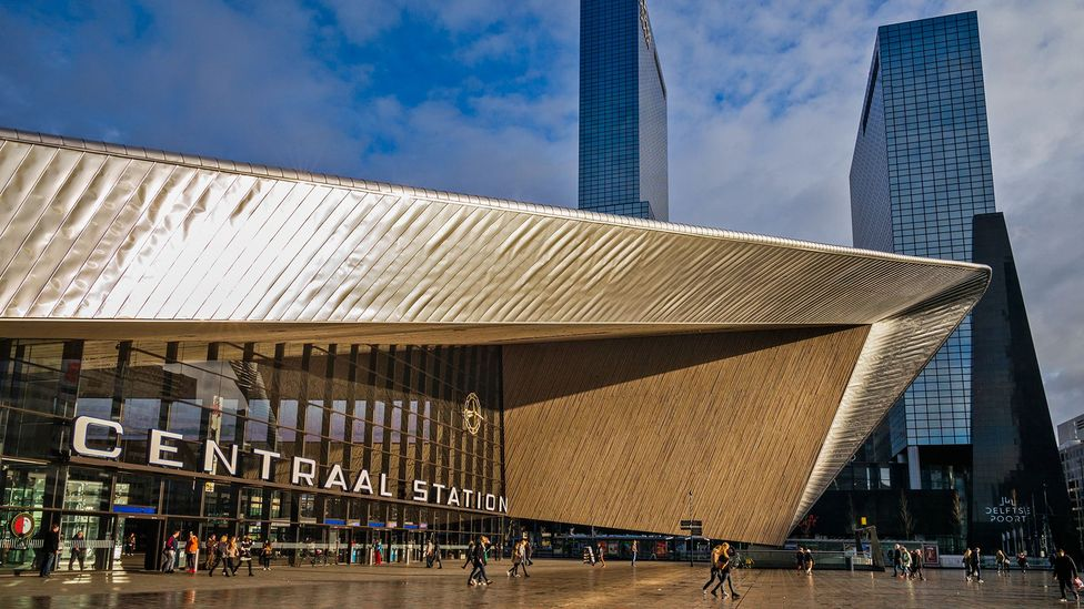 Rotterdam Station is one of the gems of an architecturally jubilant city (Credit: Walter Bibikow/Getty Images)