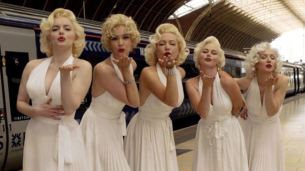 Five Marilyn Monroe look-alikes (Credit: Getty)