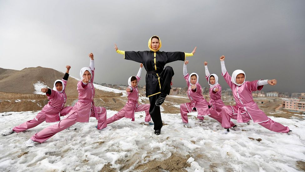 February: The kung fu women of Kabul