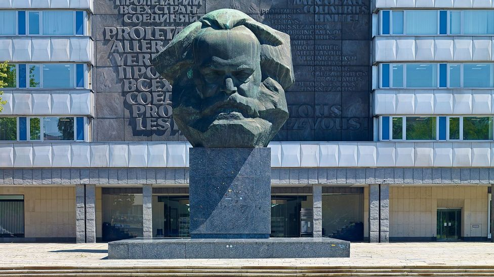 Karl Marx's name has endured, even though many communist regimes are no more (Credit: Alamy)