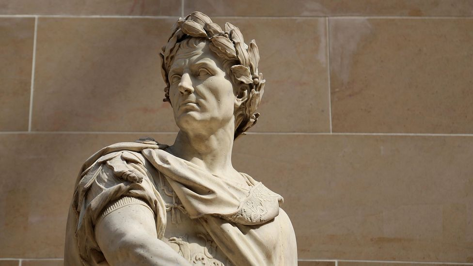 Despite living 2,000 years ago, Julius Caesar's name is still recognisable today (Credit: Alamy)