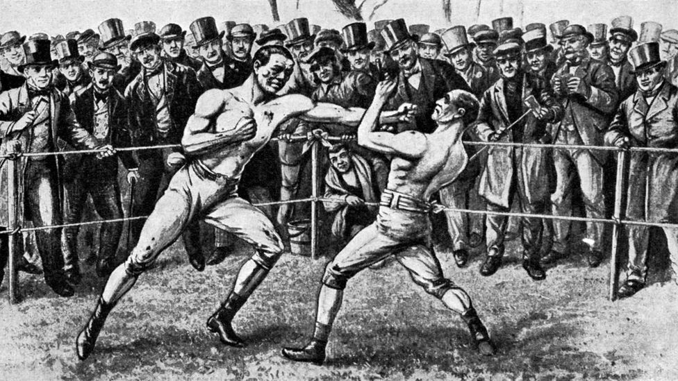 Bare-knuckle boxing match was huge in the Victorian era - but stars like Thomas Sayers were soon forgotten (Credit: Alamy)