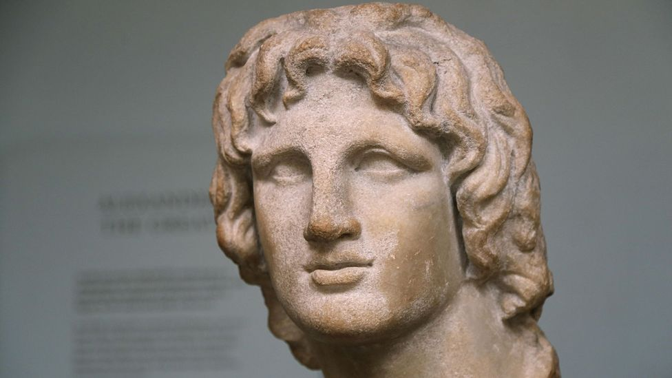 Alexander the Great ensured every coin and statue of him had the same likeness (Credit: Alamy)