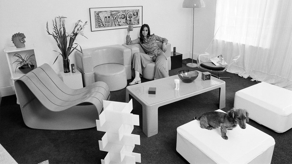 In the 1960s, the living room became a place to display artistic taste and cultural nous, with many items of furniture of the time considered works of art (Credit: Alamy)