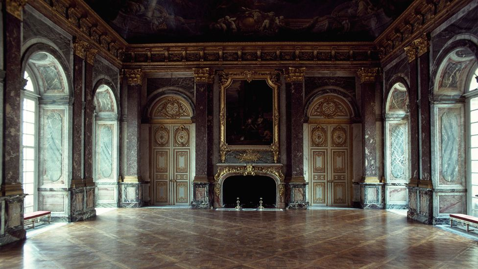 The Salon d'Hercule, one of the many elaborate and extremely formal rooms within Louis XIV's Palace of Versailles (Credit: Getty Images)