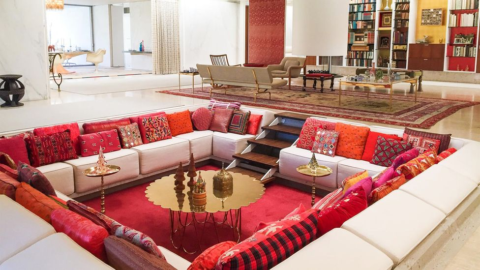 With its famous conversation pit, the Miller House is an icon of living design (Credit: Pivot Marketing)