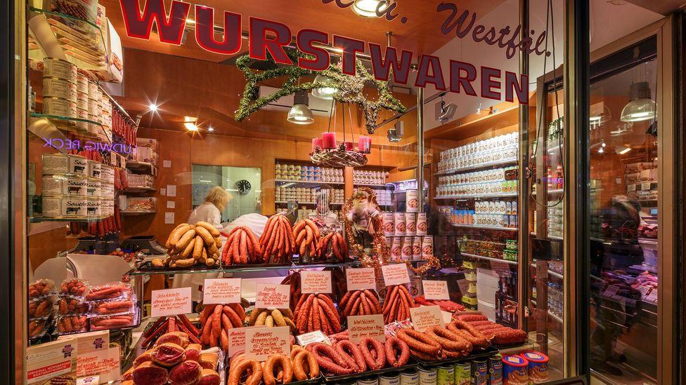 Each German citizen consumes 52.1kg of pork per year (Credit: Bogomyako/Alamy)