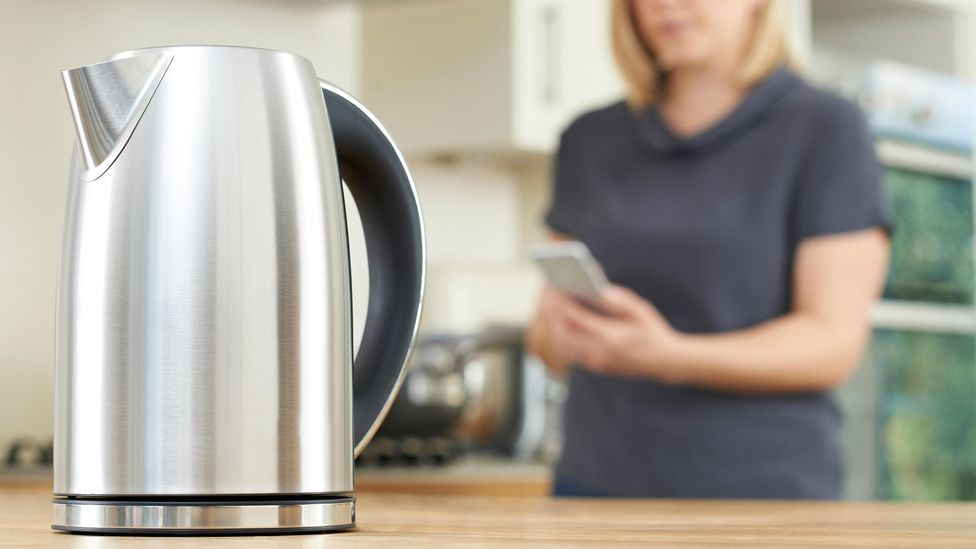 The growth of internet-connecting devices like kettles give hackers more options to attack a network, experts say (Credit: Alamy)