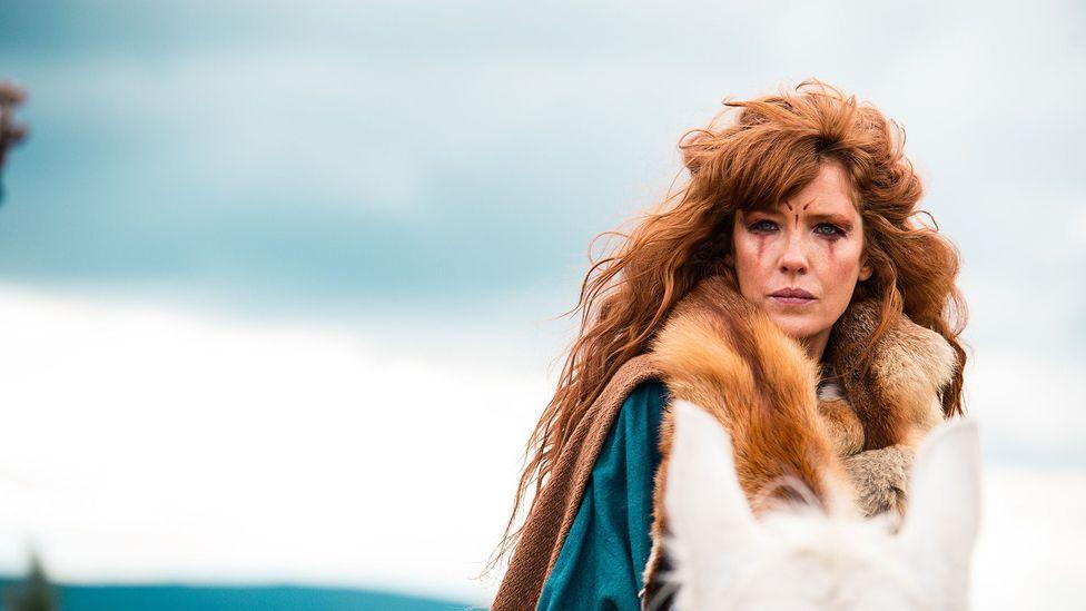 Kelly Reilly as Kerra in Britannia (Credit: Sky Atlantic)