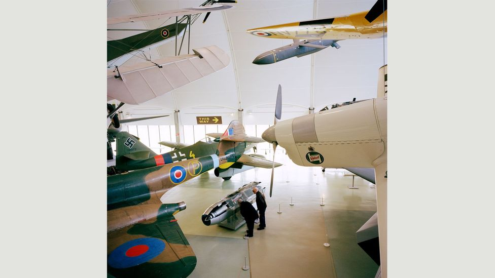 Royal Air Force Museum #1 (London, UK), 2015 (Credit: Jason Larkin, Courtesy of Flowers Gallery)