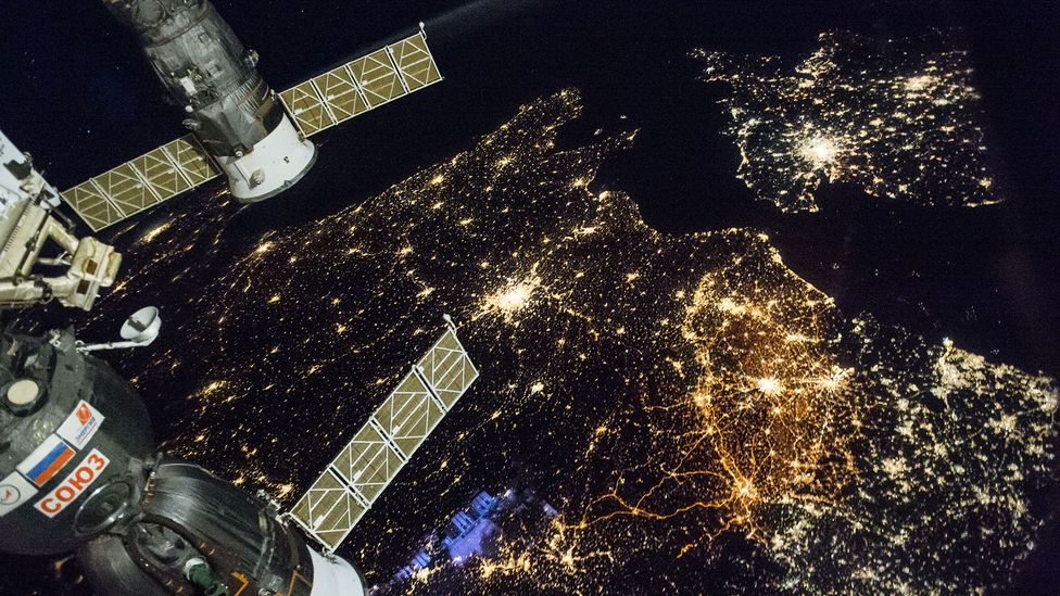 View of Europe from ISS (Credit: Nasa)