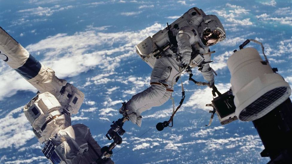 Michael Foale has spent more than a year in space on various missions (Credit: Nasa)