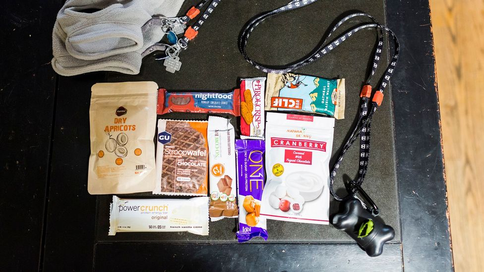 A variety of carefully selected snacks (Credit: Mark Abramson)