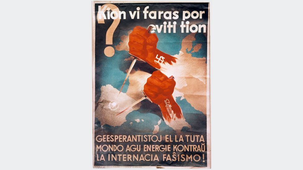 Esperanto has been historically close to the pacifist and anti-fascist movements (Credit: Alamy)