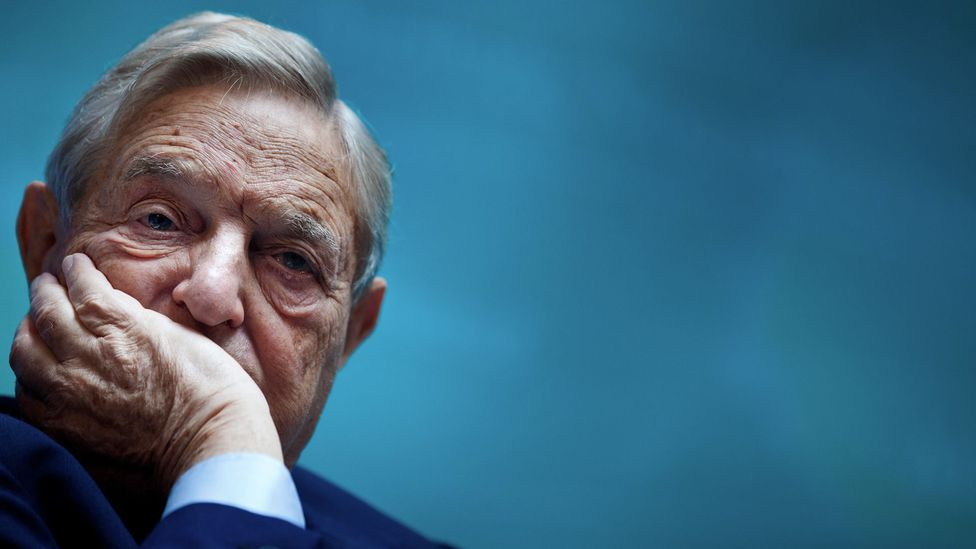 The investor and philanthropist George Soros learned Esperanto from his father (Credit: Getty Images)