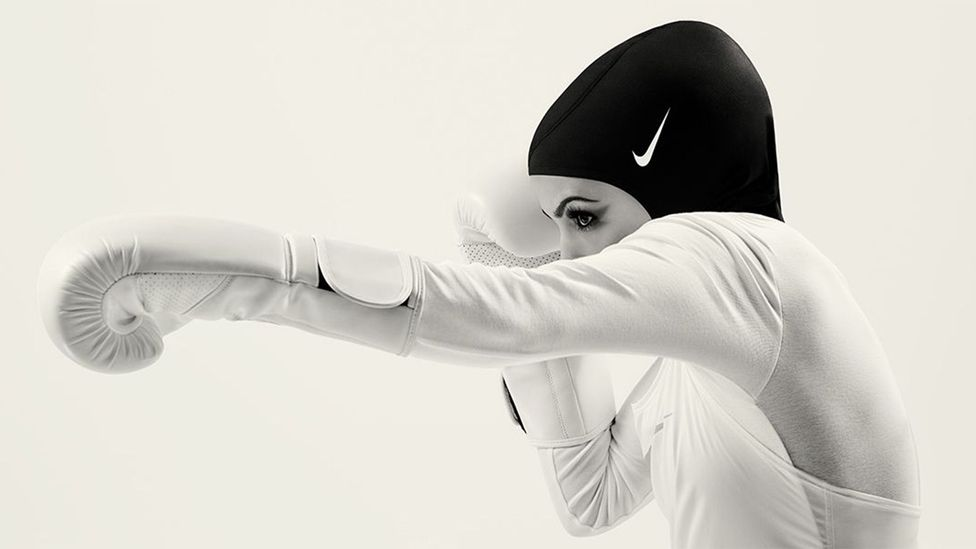 Female athletes have welcomed the item, saying it increases representation and access for Muslim women in sport (Credit: Nike.com)