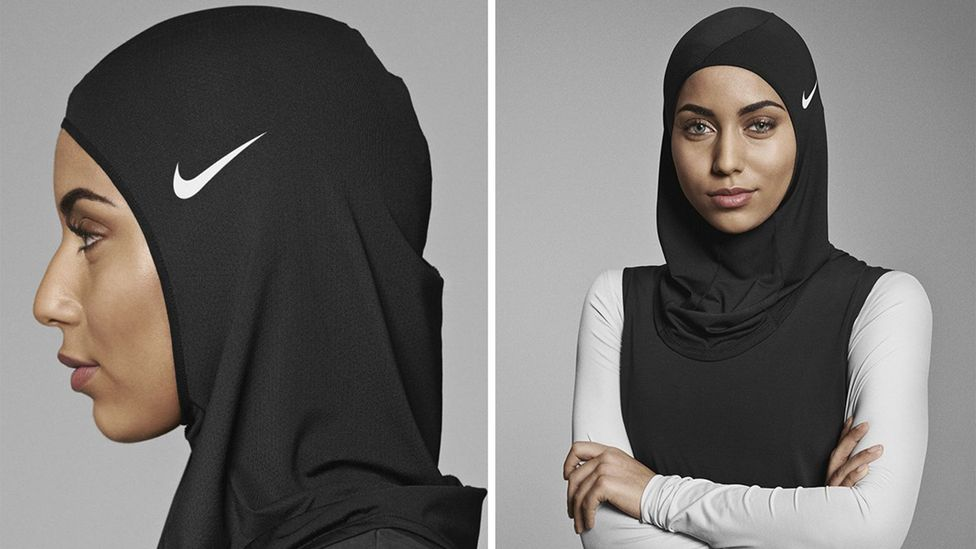 The item has received a mixed reception from both sides of the topic of dressing modestly (Credit: Nike.com)