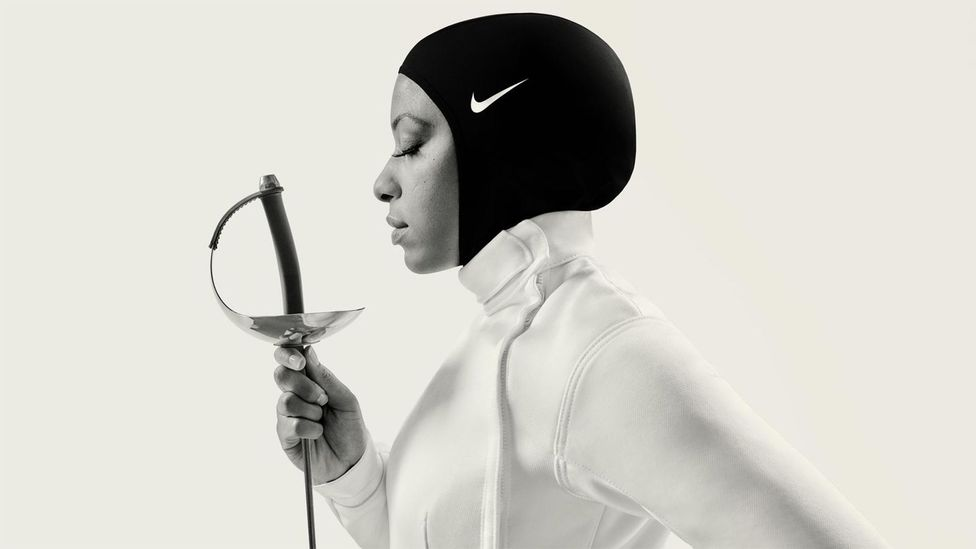 Nike's performance hijab is included in the latest nominations for the Beazley Designs of the Year (Credit: Nike.com)