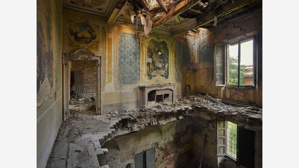 Rebecca Lilith Bathory has travelled the world since 2017 seeking out the most beautiful locations featuring decay (Credit: Rebecca Lilith Bathory)