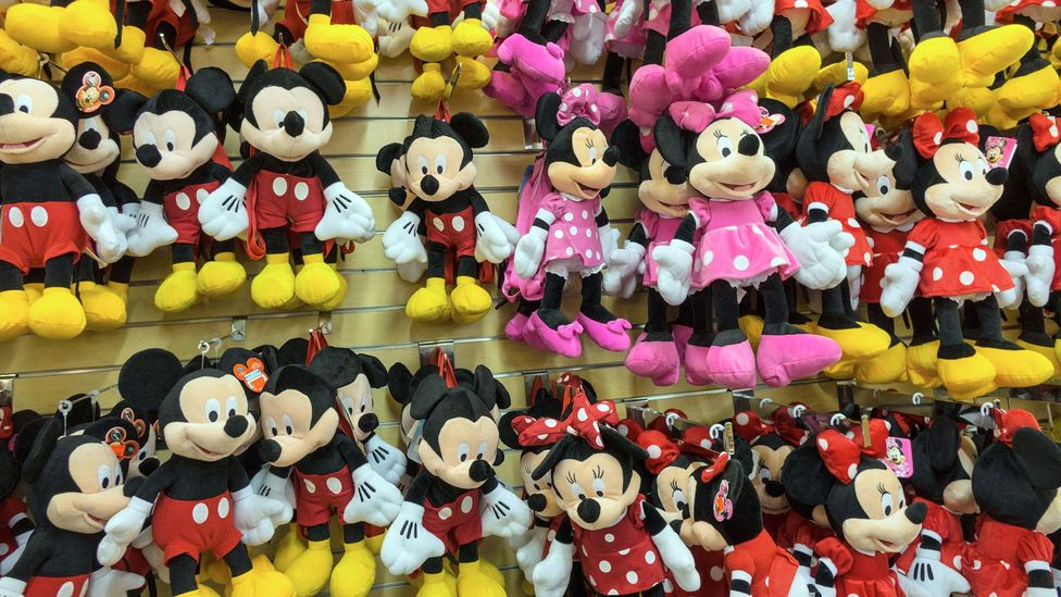 Disney products are manufactured in countries the corporation has chosen with the help of the World Bank's WGI (Credit: Alamy)