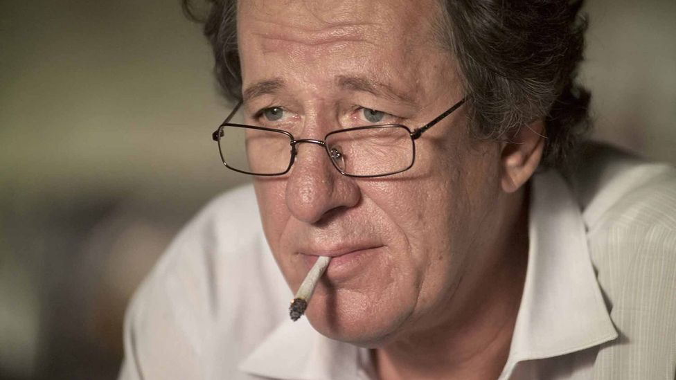 Actor Geoffrey Rush has synesthesia, where stimulation of one sense affects others, such as smelling or tasting colours (Credit: Alamy)