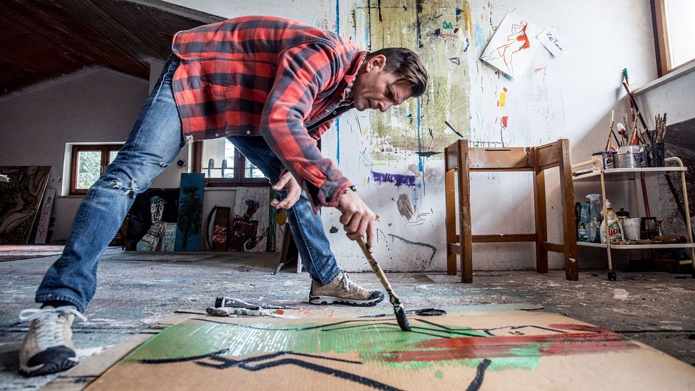 Artist painting (Credit: Getty Images)