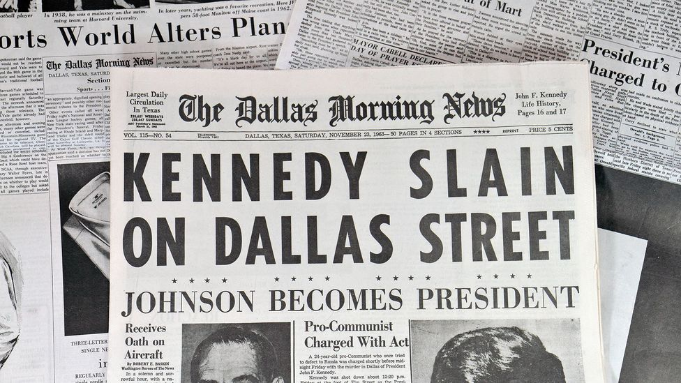 The story became massively popular, just weeks after JFK's assassination (Credit: Alamy)