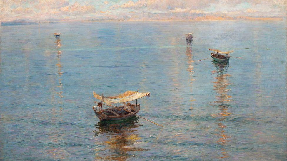 Mato Celestin Medović, Bonaca,1908, oil on canvas (Credit: Kallay Collection)
