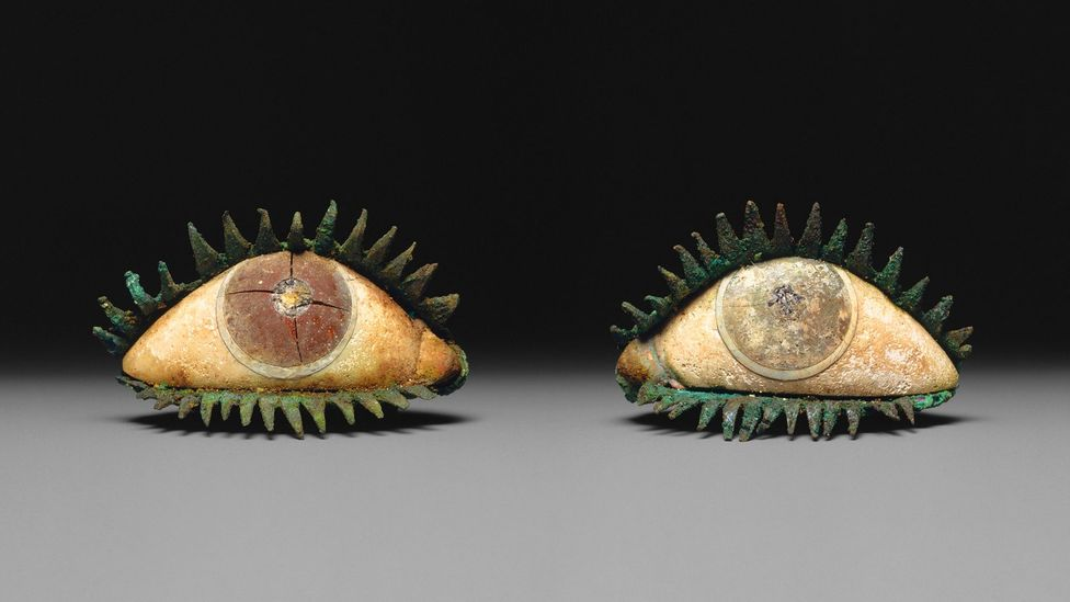 The eyes of bronze statues in ancient Greece were usually made separately – and frequently are missing from the statues that still survive (Credit: Metropolitan Museum of Art)