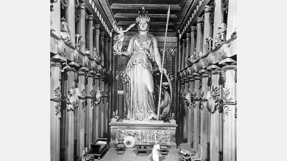 Phidias also sculpted a large statue of Athena to stand at the Parthenon – it was covered in gold and ivory (Credit: Getty Images)