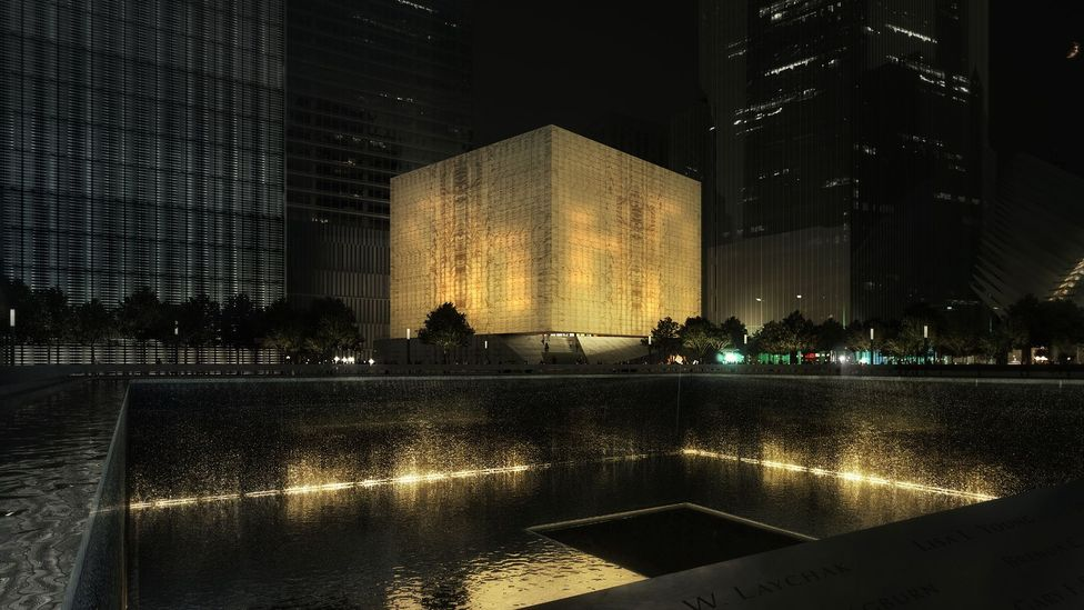 The Ronald O Perleman Performing Arts Center in New York, at the site of the former World Trade Center, will be clad in translucent marble (Credit: Rex / Luxigon)