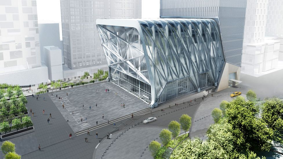 The Shed in New York is an ambitious, bold project (Credit: Diller Scofidio + Renfro / Rockwell Group)