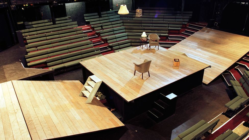 The Young Vic in London shows how a theatre can be remodelled to increase flexibility (Credit: Alamy)