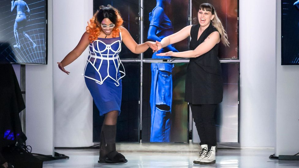 Brands such as Becca McCharen-Tran's label Chromat have embraced a more inclusive view of the fashionable body (Credit: Alamy)