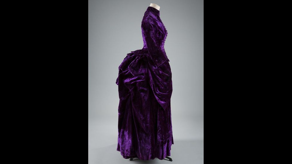 The bustle, which gave prominence to the rear, coincided with an era when fashion was becoming more democratised (Credit: The Museum at FIT)