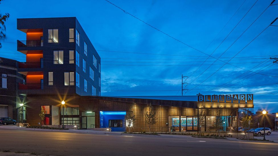 The Bluebarn theatre in Omaha, Nebraska, was designed by US architecture firm Min | Day (Credit: Tom Kessler)
