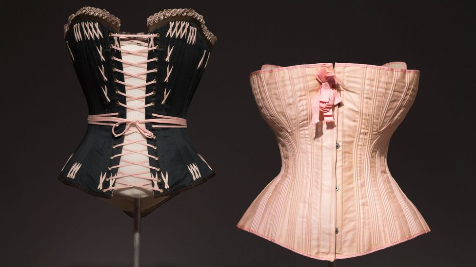 The corset created a uniquely rigid carriage – mastering an elegant gait while constrained was seen as a sign of breeding (Credit: Getty)
