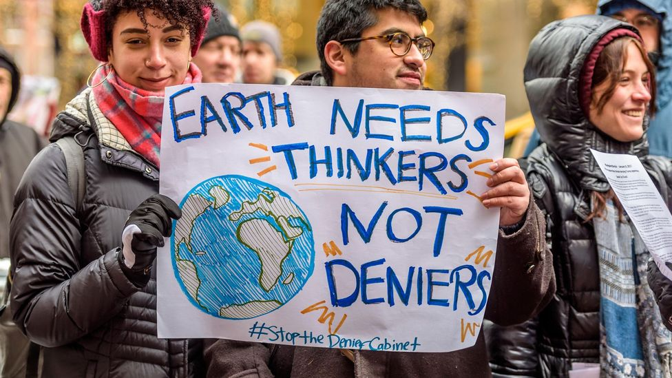 The vast majority of scientists agree that climate change today is caused by humans (Credit: Alamy)