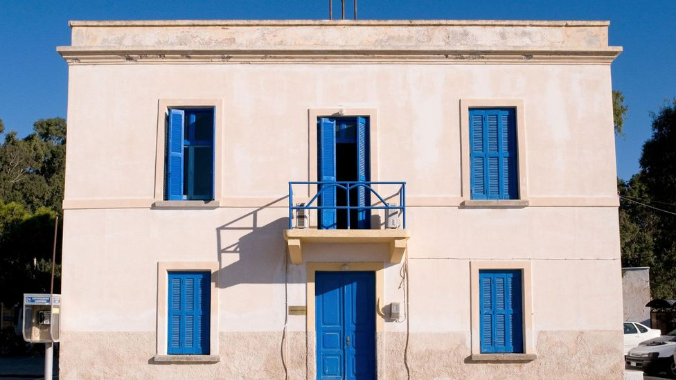 The Italians named the town Portolago; its architecture was created using the principles of Rationalism (Credit: Alamy)