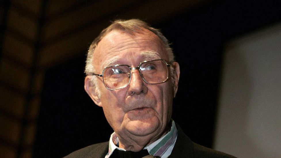 Ikea founder Ingvar Kamprad died last week aged 91. The Swedish billionaire founded Ikea when he was 17 years old (Credit: Getty Images)