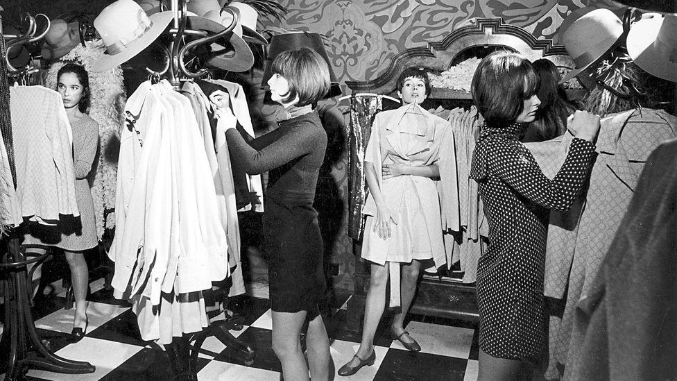 Barbara Hulanicki sold T-shirts through her Biba shops (Credit: Alamy)