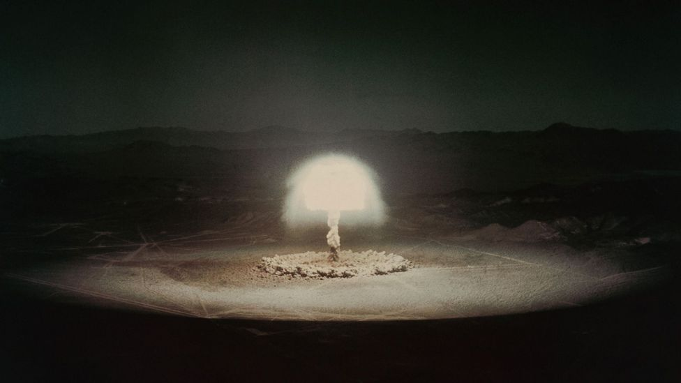 Atmospheric radioactivity from bomb tests can still be traced today (Credit: Alamy)