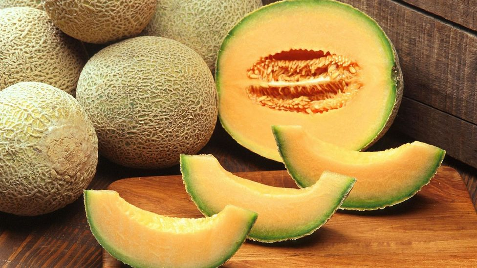 Cantaloupe melon - rich in antioxidants
