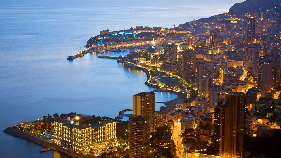 Over 30% of the roughly 38,000 residents of Monaco are millionaires (Credit: Alamy)